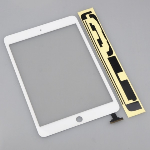 iPad Mini Touch Screen Digitizer Replacement + White Adhesive