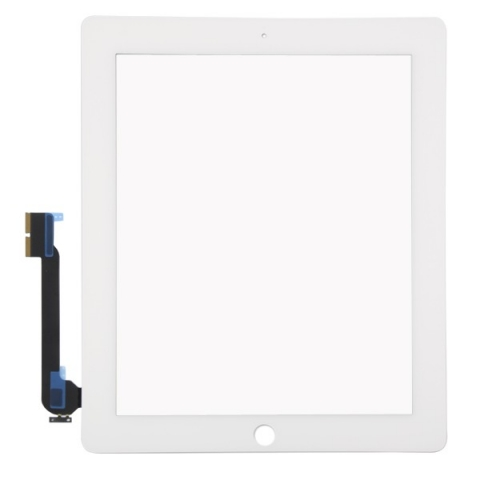 iPad 4 Touch Screen Digitizer Replacement White