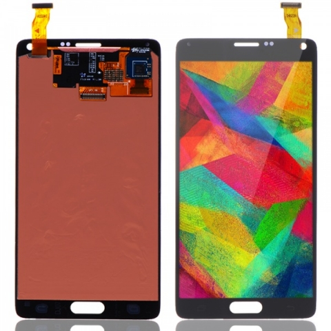 Black LCD Screen Digitizer Assembly Replacement for Samsung Galaxy Note 4 N910T