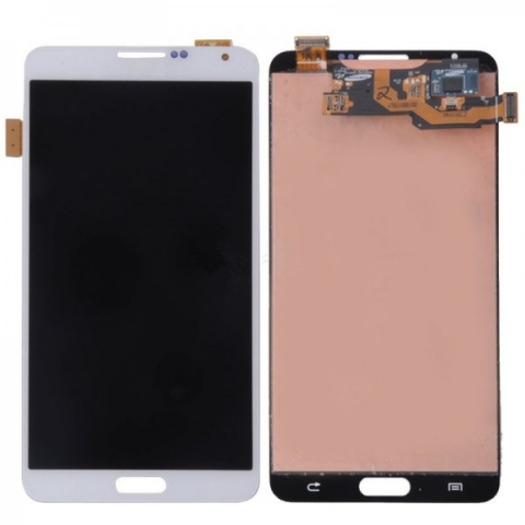 White LCD Screen Digitizer Assembly Replacement For Samsung Galaxy Note 3 N9000 N900A