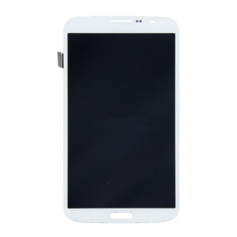 White LCD Screen Digitizer Assembly Replacement For Samsung Galaxy Mega 6.3
