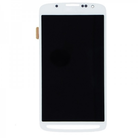 White LCD Screen Digitizer Assembly Replacement for Samsung Galaxy S4 Active i9295 i537