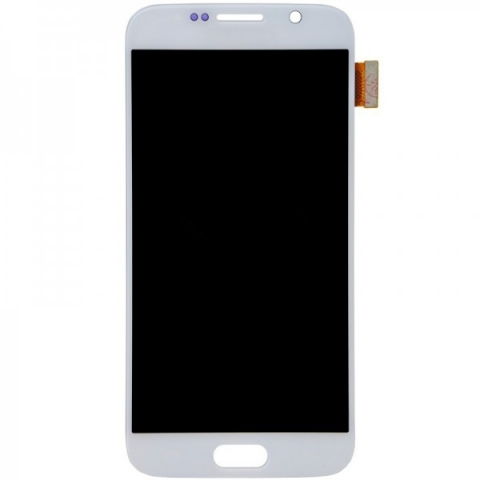 White LCD Screen Digitizer Replacement For Samsung Galaxy S6 G920 G920F G920I G920X