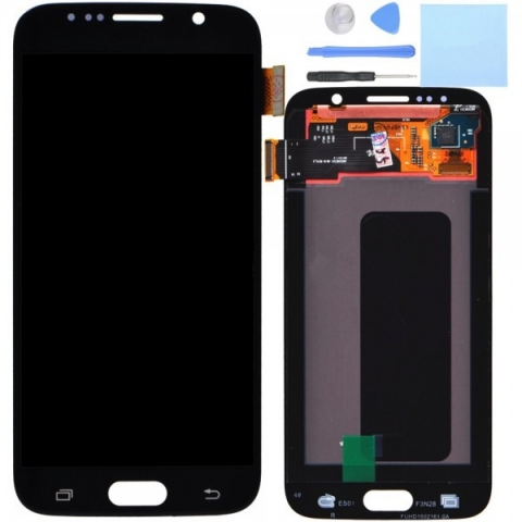 Blue LCD Screen Digitizer Replacement For Samsung Galaxy S6 G920 G920F G920I G920