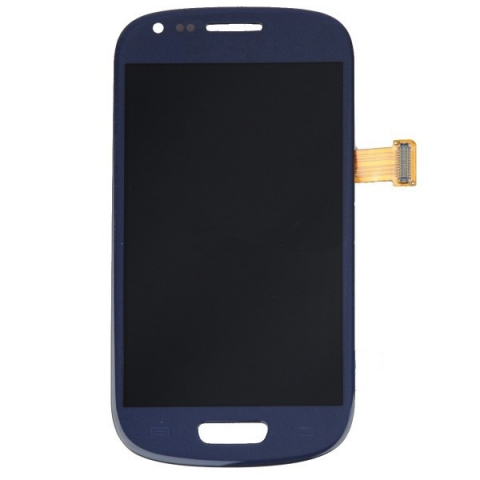 Blue LCD Screen Digitizzer Assembly Replacement for Samsung Galaxy S3 MINI i8190