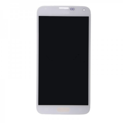 White LCD Screen Digitizer Assembly Replacement For Samsung Galaxy S5